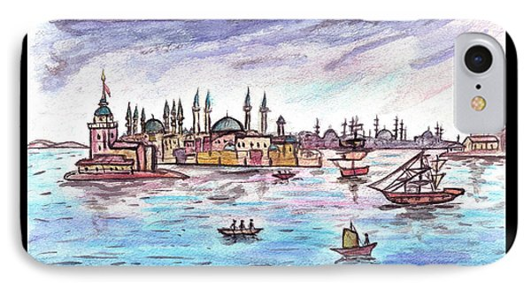 A Story Of Istanbul IPhone Case
