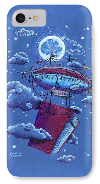 A Storybook Adventure IPhone Case by David Breeding