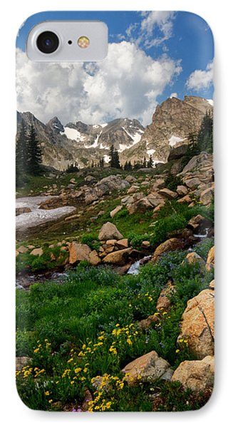 IPhone Case featuring the photograph A Stream Runs Through It by Ronda Kimbrow