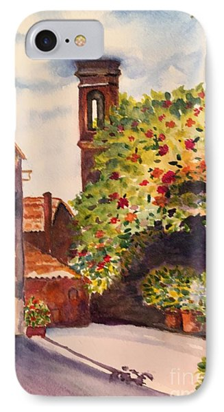 A Street In Tuscany IPhone Case