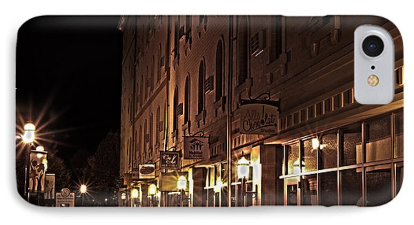 IPhone Case featuring the photograph A Stroll In The City by Deborah Klubertanz