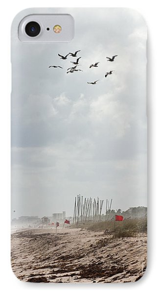 A Summer Day At Delray Beach Florida IPhone Case by Michelle Wiarda