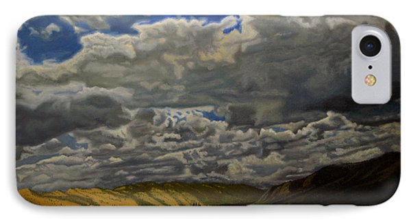 A Summer Day On Cottonwood Pass Phone Case by Thu Nguyen