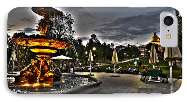 A Summer Night On The Boston Common IPhone Case by Toby McGuire