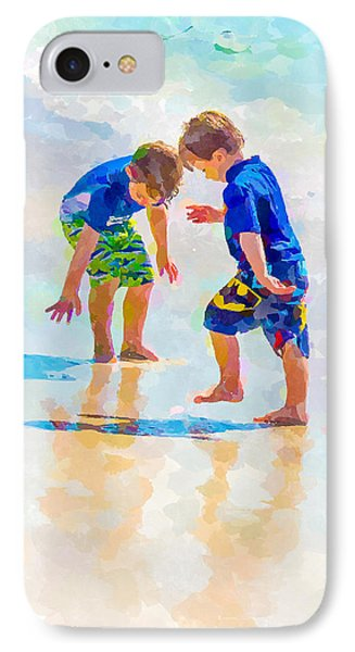A Summer To Remember Iv IPhone Case by Susan Molnar