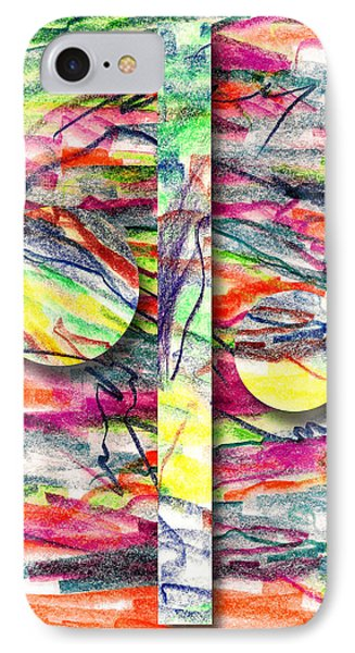 IPhone Case featuring the drawing A Summers Day Breeze by Peter Piatt