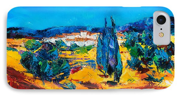 A Sunny Day In Provence Phone Case by Elise Palmigiani