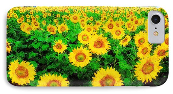 IPhone Case featuring the painting A Sunny Day With Vincent by Sandy MacGowan
