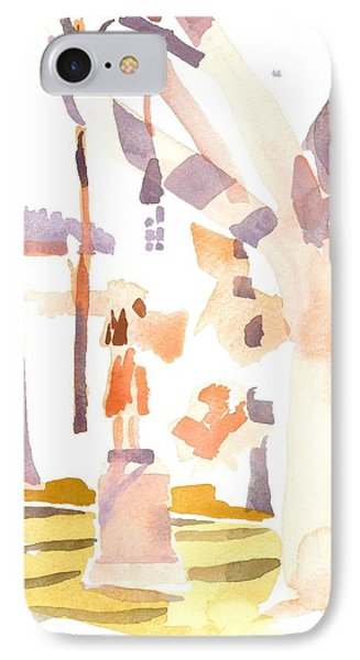 A Sunny Winters Day Phone Case by Kip DeVore