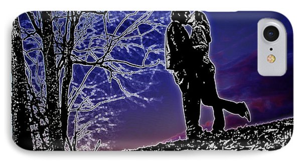 A Sunset Embrace Phone Case by Brian Archer