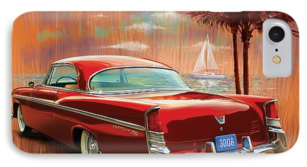 A Sunset Sail In The 300b Phone Case by Sean  Svendsen