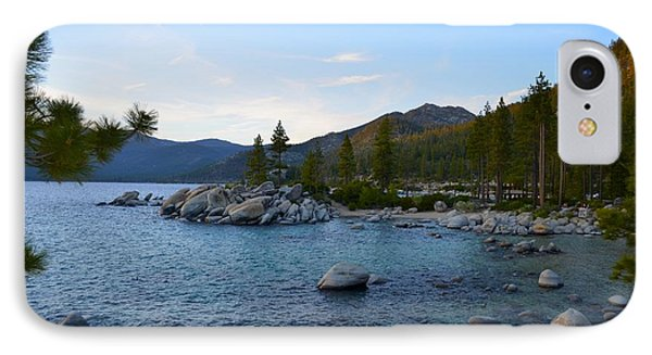 Just Before Sunset At Lake Tahoe IPhone Case by Alex King