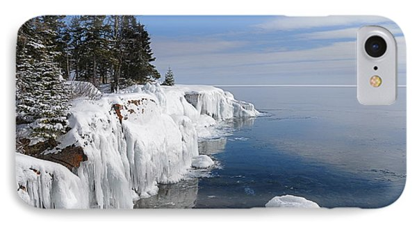A Superior Winter Day #2 IPhone Case by Sandra Updyke