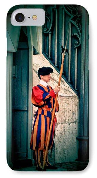 A Swiss Guard IPhone Case
