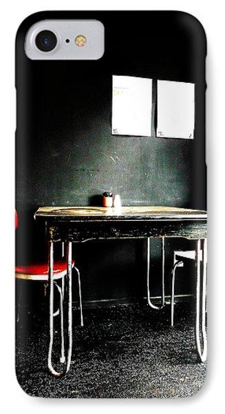 A Table For Two Phone Case by Steve Taylor