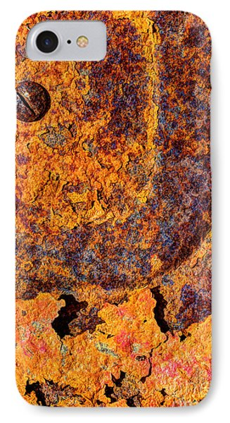 A Tad Rusty Phone Case by Heidi Smith
