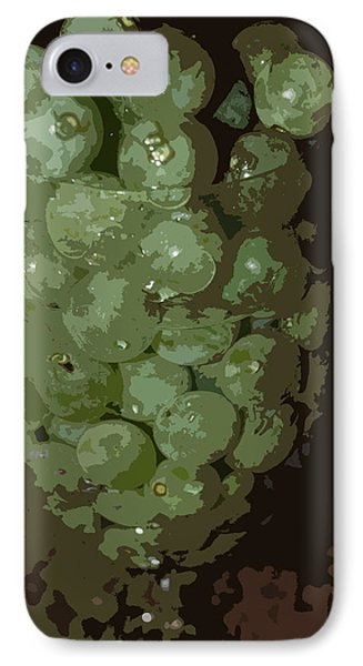 A Tall Glass Of Grapes Phone Case by Robert Margetts