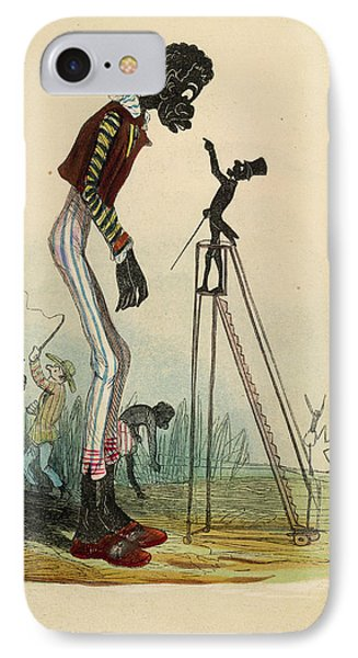 A Tall Slave IPhone Case by British Library