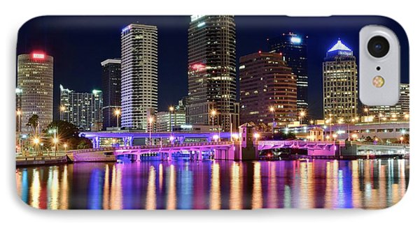 A Tampa Bay Night IPhone Case