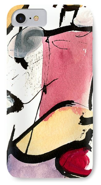 IPhone Case featuring the painting A Thing Of Beauty by Stephen Lucas