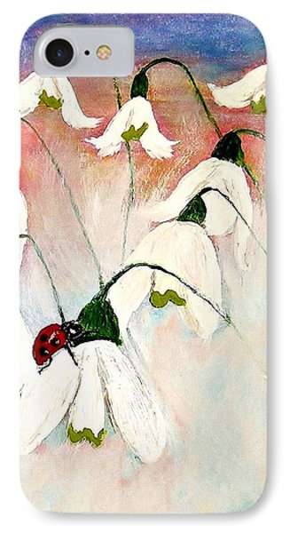 IPhone Case featuring the painting A Tiny Guy With Luck  by Cristina Mihailescu