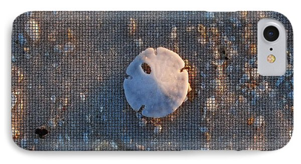 A Tiny Sand Dollar IPhone Case