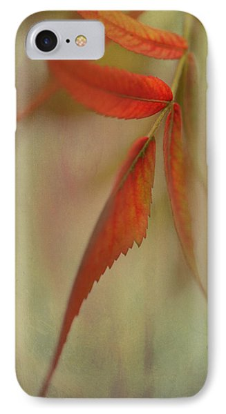 IPhone Case featuring the photograph A Touch Of Autumn by Annie Snel