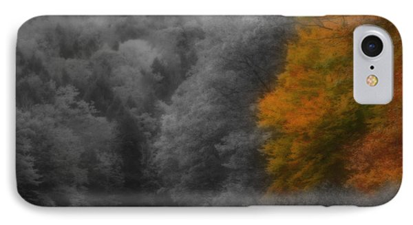 A Touch Of Autumn Colors IPhone Case