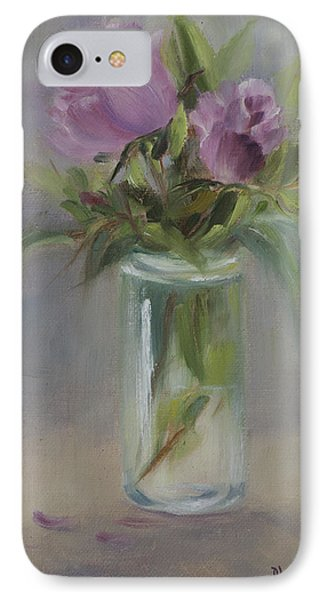A Touch Of Elegance IPhone Case by Debbie Lamey-MacDonald