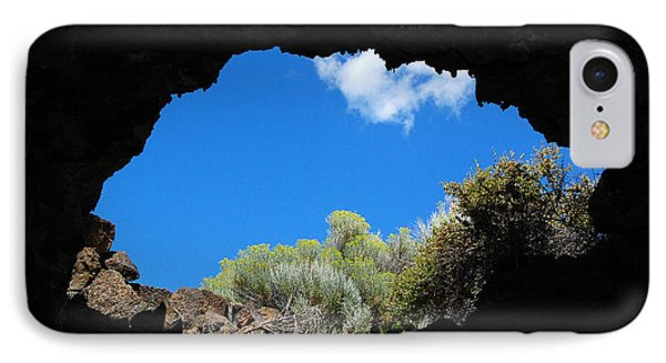 IPhone Case featuring the photograph A Touch Of Sky by Debra Thompson