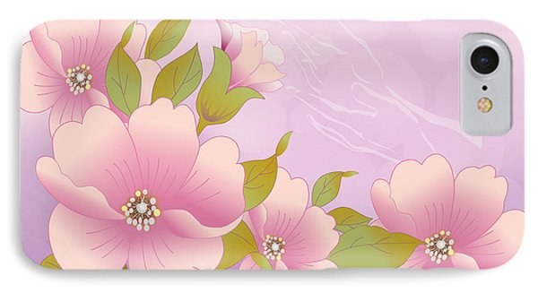 A Touch Of Spring Phone Case by Gayle Odsather