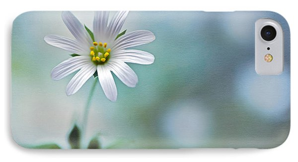 A Touch Of White Phone Case by Jacky Parker