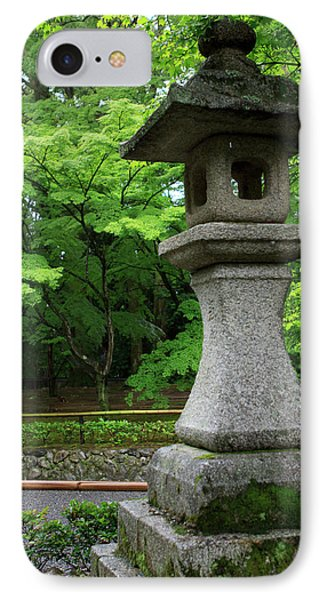 A Traditional Japanese Lantern Marks IPhone Case by Paul Dymond