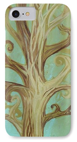 A Tree In Paris Phone Case by Genevieve Esson