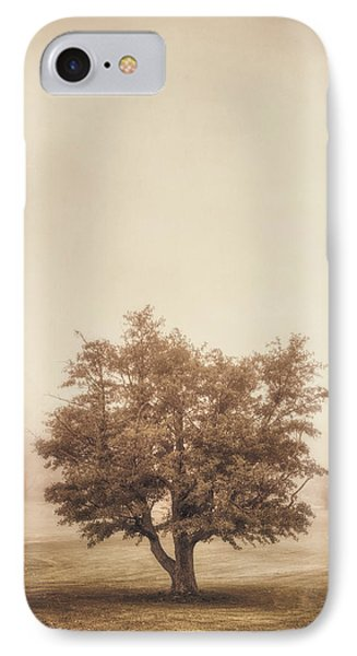 A Tree In The Fog IPhone Case by Scott Norris