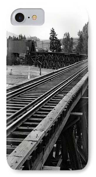 A Trestle And Covered Bridge IPhone Case
