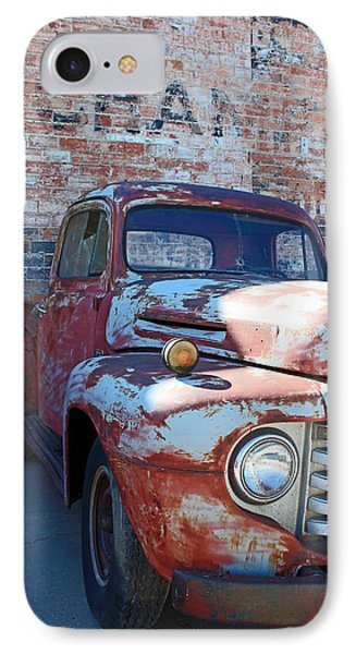 A Truck In Goodland IPhone Case by Lynn Sprowl