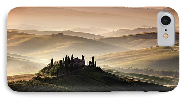 A Tuscan Country Landscape IPhone Case