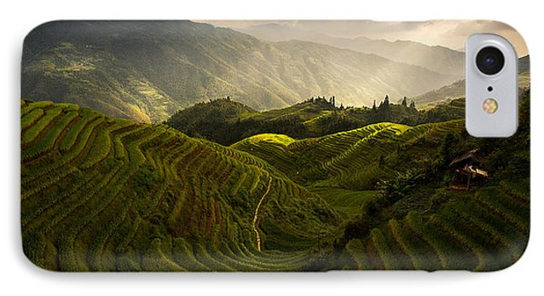 A Tuscan Feel In China IPhone Case
