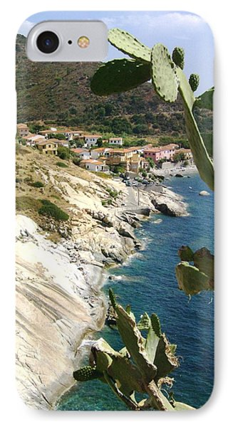 IPhone Case featuring the photograph A Typical Bay Of Elba Island by Giuseppe Epifani