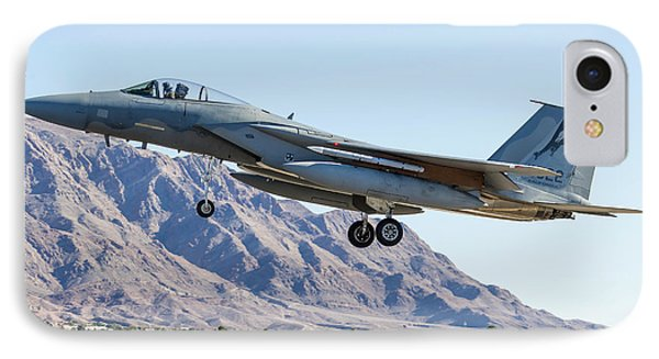 A U.s. Air Force F-15c Eagle On Final IPhone Case