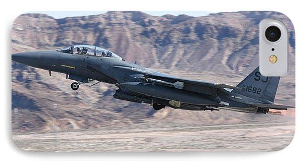 A U.s. Air Force F-15e Strike Eagle IPhone Case