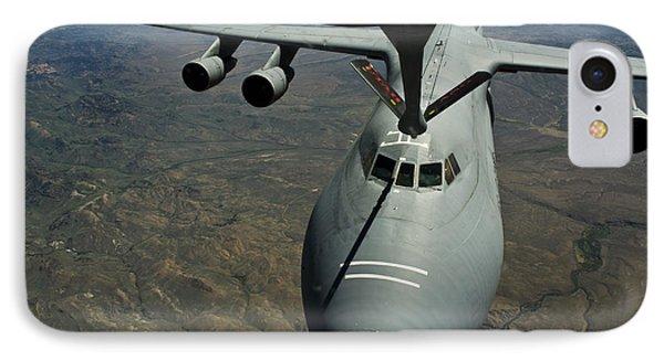 A U.s. Air Force Kc-135r Stratotanker Phone Case by Stocktrek Images