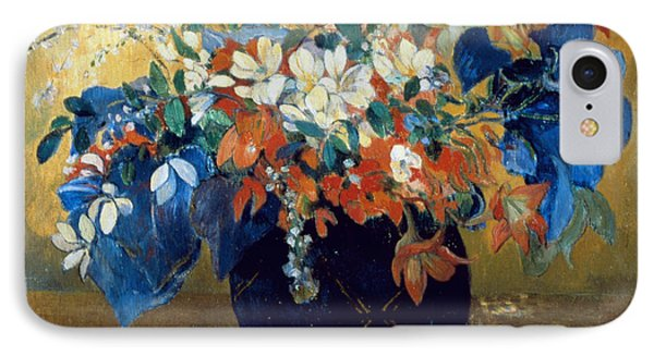 A Vase Of Flowers Phone Case by Paul Gauguin