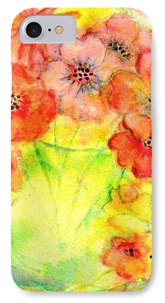 A Vaseful Of Sunshine Phone Case by Hazel Holland