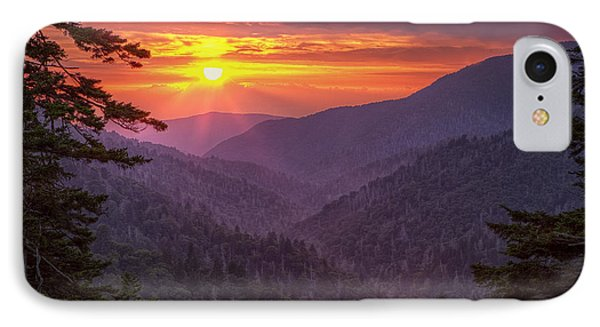 A View At Sunset IPhone Case by Andrew Soundarajan