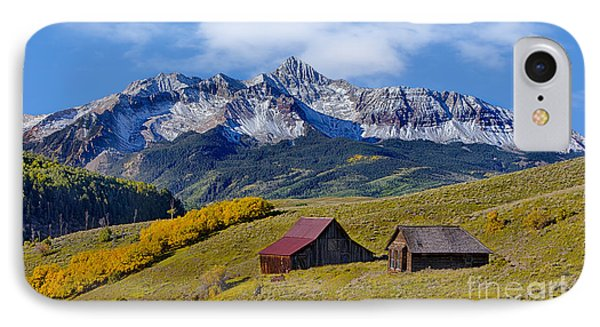 A View From Last Dollar Road IPhone Case by Jerry Fornarotto