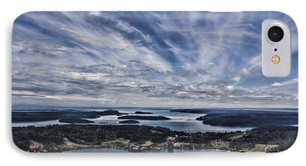 A View From Mt. Erie IPhone Case by Jeff Swanson