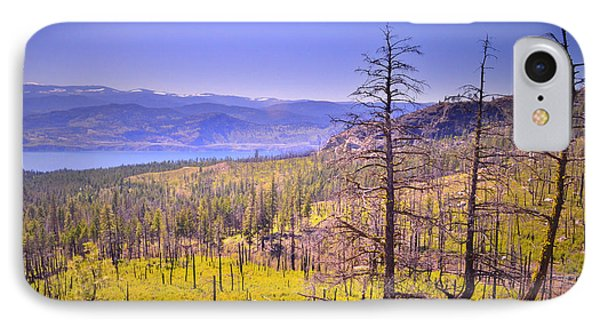 A View From Okanagan Mountain Phone Case by Tara Turner