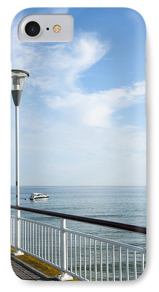 a View from Pier Phone Case by Svetlana Sewell